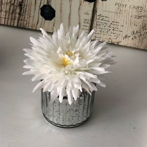 Other - Silver Faux Flower